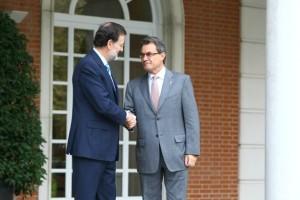 Mas y Rajoy