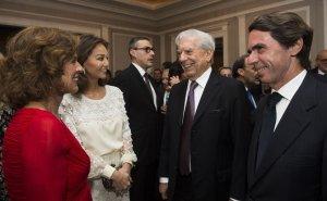 29/03/2016 Homenaje Mario Vargas Llosa 80 cumpleaños CULTURA DAVID MUDARRA