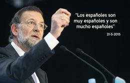 Mariano Rajoy en un mitin en Leon. FOTO BRUNO MORENO